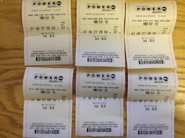 7 Quick Picks Bought - All Identical Tickets! WOW